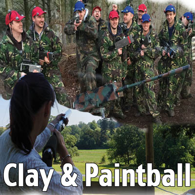 paintball clay shooting exeter devon