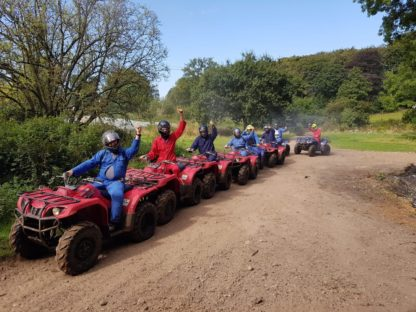 group quad biking