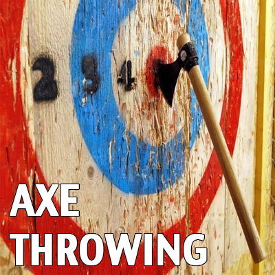axe throwing Devon exeter