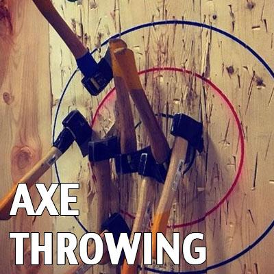 axe throwing devon